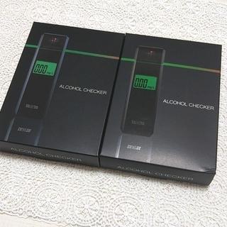 タニタ(TANITA)のTANITA アルコールチェッカー HC-310 二個売り(アルコールグッズ)