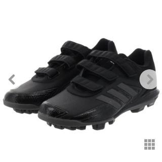 adidas - 未使用 野球 スパイク 22 アディダス  黒