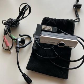 エレコム(ELECOM)の【美品】ウェブカメラ&ヘッドセット 一発接続簡単 ELECOM(PC周辺機器)