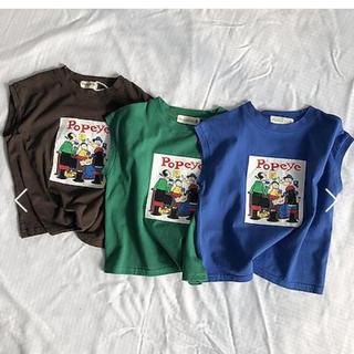 BREEZE - 韓国子供服 プリントノースリーブ