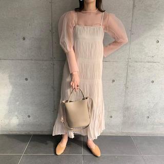 "TODAYFUL - ""original"" majolica dress #beige"