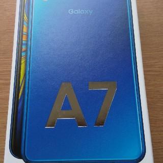 Galaxy - ギャラクシー Galaxy A7 ブルー【新品・未開封】