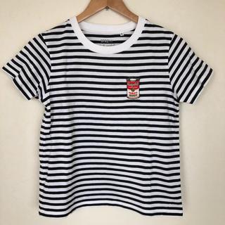 アンディウォーホル(Andy Warhol)のUNIQLO  ボーダーTシャツ Mサイズ(Tシャツ(半袖/袖なし))