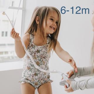 キャラメルベビー&チャイルド(Caramel baby&child )の【新品未使用】jamie kay 水着 wild floral 6-12m(水着)