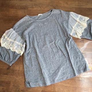 GU - GU  Tシャツ  グレー 150