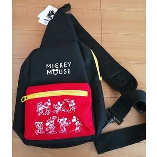 ミッキーマウス(ミッキーマウス)の新品☆ミッキー キッズ用 ボディバッグ ショルダーバッグ  子供用(その他)