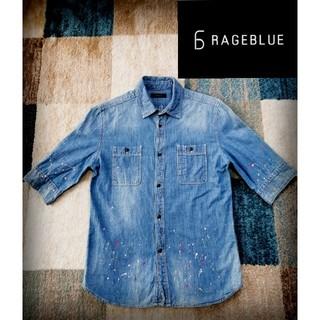 RAGEBLUE - 【お洒落♪】RAGEBLUE デニムシャツ Mサイズ