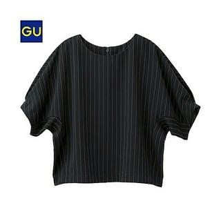 ジーユー(GU)のGU ブラウス  カットソー トップス(カットソー(半袖/袖なし))