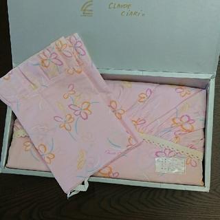 シーツ、枕カバーセット。花柄ピンク(シーツ/カバー)