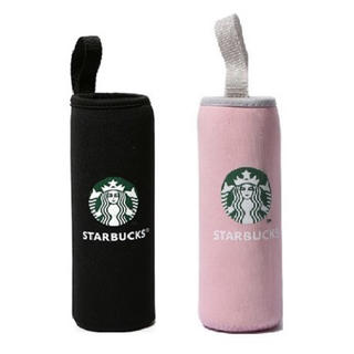 Starbucks Coffee - 【即購入大歓迎】スターバックス ペットボトルカバー 黒桜 500ml 2個セット