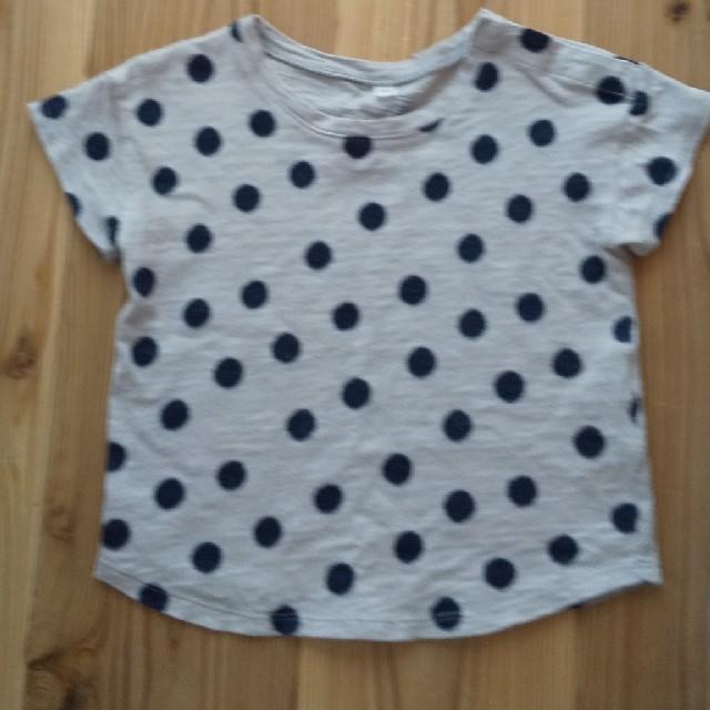 MUJI (無印良品)(ムジルシリョウヒン)の無印良品 Tシャツ キッズ/ベビー/マタニティのキッズ服女の子用(90cm~)(Tシャツ/カットソー)の商品写真