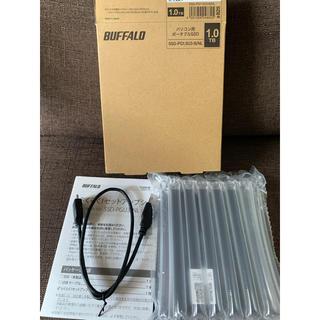Buffalo - 未使用品★BUFFALO パソコン用ポータブルSSD 1TB 外付けタイプ