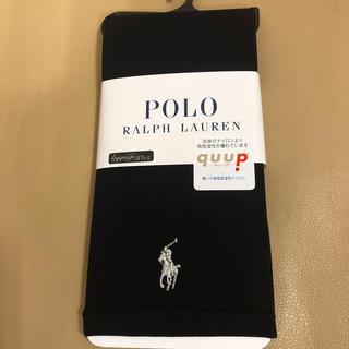 ポロラルフローレン(POLO RALPH LAUREN)の新品 レディース  POLO ポロラルフローレン 10分丈黒レギンス M寸日本製(レギンス/スパッツ)