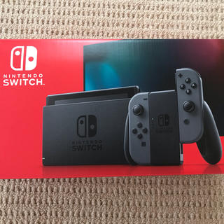 Nintendo Switch - 【美品】任天堂スイッチ switch  本体 新型 グレー