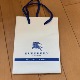 バーバリーブルーレーベル(BURBERRY BLUE LABEL)のバーバリーブルーレーベル 紙袋(ショップ袋)