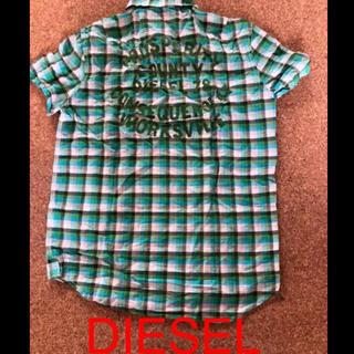 ディーゼル(DIESEL)のDIESEL 男女兼用  半袖  チェックシャツ(シャツ)