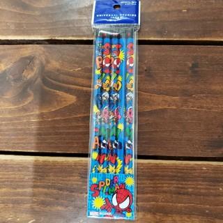 マーベル(MARVEL)のユニバーサル スタジオ ジャパン MARVEL スパイダーマン 鉛筆 5本入(鉛筆)