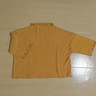 ドットアンドストライプスチャイルドウーマン(Dot&Stripes CHILDWOMAN)のフリル トップス(カットソー(半袖/袖なし))