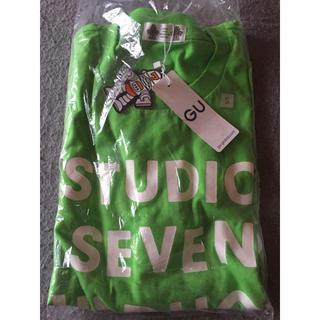 ジーユー(GU)のGU Sサイズ ヘビーウェイト Tシャツ STUDIO SEVEN ジーユー(Gジャン/デニムジャケット)