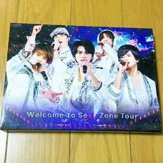セクシー ゾーン(Sexy Zone)のWelcome to Sexy Zone Tour 初回限定盤DVD(ミュージック)