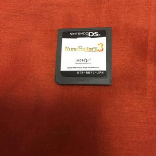 ニンテンドーDS(ニンテンドーDS)のルーンファクトリー3 ds ソフト(携帯用ゲームソフト)