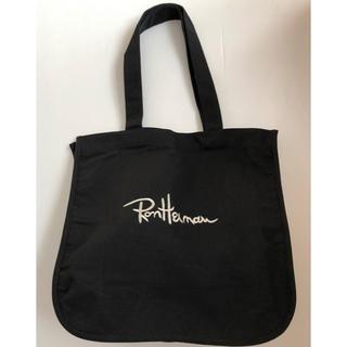 Ron Herman - ロンハーマン ☆刺繍ロゴキャンバストート☆ブラック