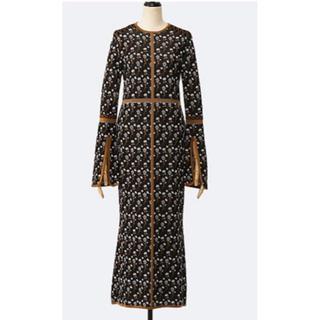 mame - 新品mame完売Pedicel Knit Dress黒2020SS