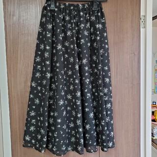 シマムラ(しまむら)のロングプリントスカート(ロングスカート)