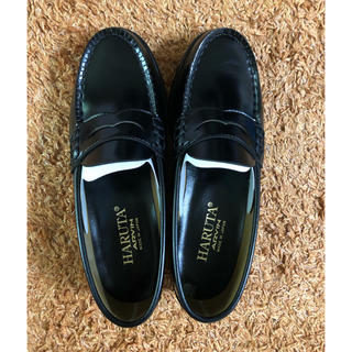 ハルタ(HARUTA)の【新品】HARUTA ローファー黒 24EE(ローファー/革靴)