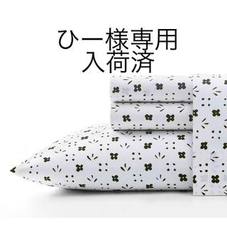 マリメッコ(marimekko)の【専用】marimekko Kukkaketo TwinXL シーツセット、他(シーツ/カバー)