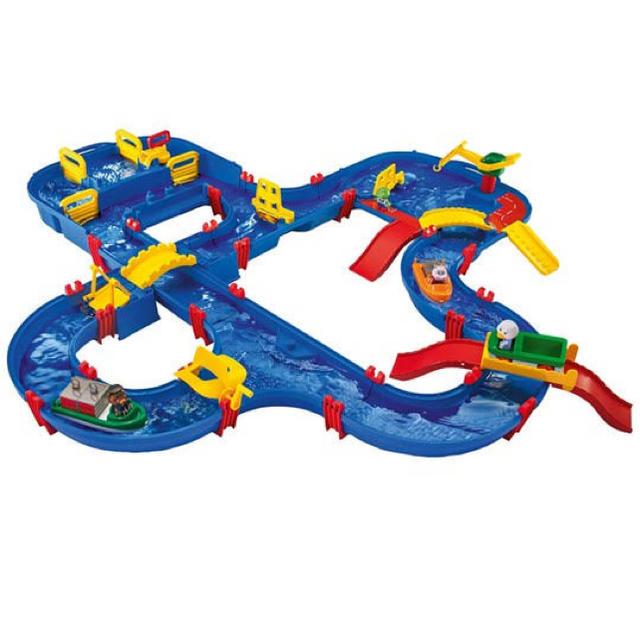 BorneLund(ボーネルンド)の【アクアプレイ ブリッジ&ハーバーセット】ボーネルンド キッズ/ベビー/マタニティのおもちゃ(知育玩具)の商品写真