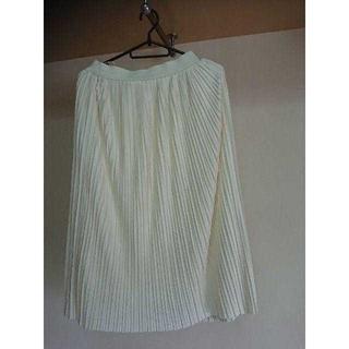 ジーユー(GU)のGU  プリッツスカート ロングスカート  Lサイズ(ロングスカート)