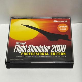 マイクロソフト(Microsoft)のフライトシミュレータ2000(PCゲームソフト)