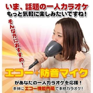 一人でカラオケDX(防音マイク・エコー調整付き)