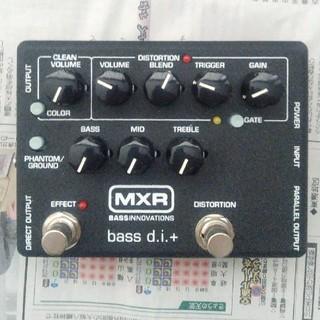 ダンロップ(DUNLOP)のMXR M80 ベース プリアンプ DI(ベースエフェクター)