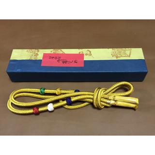 新品❤️伊賀の組紐 帯締め 箱付き(和装小物)