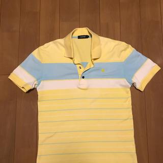 バーバリーブラックレーベル(BURBERRY BLACK LABEL)のBURBERRY (バーバリー) ブラックレーベルポロシャツ 半袖(ポロシャツ)