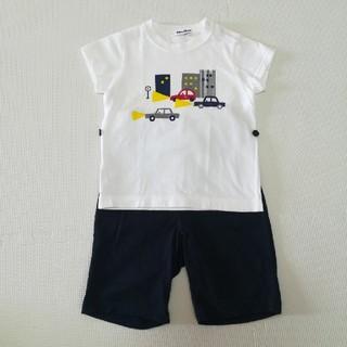 ファミリア(familiar)のファミリア 男の子 乗り物柄 パジャマ サイズ90(パジャマ)