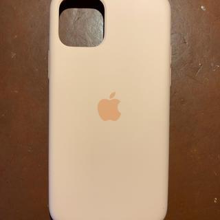 アップル(Apple)のApple純正 iPhone 11 Pro シリコンケース グレープフルーツ(iPhoneケース)