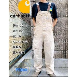 carhartt - 人気⚡️ カーハート carhartt ペインター オーバーオール ダック生地