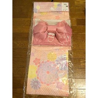 サンリオ(サンリオ)の浴衣 Hello Kitty ピンク キティちゃん花柄(浴衣)