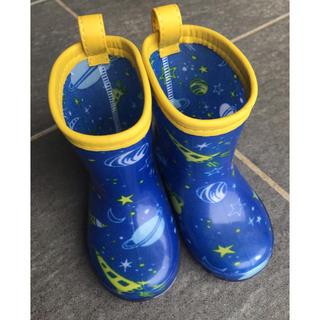 宇宙柄 レインブーツ 長靴(長靴/レインシューズ)