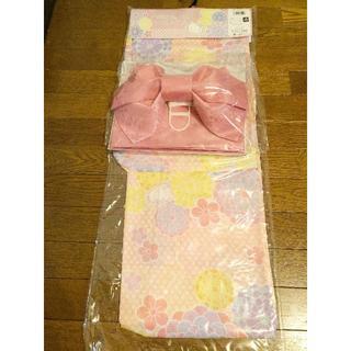 サンリオ(サンリオ)の浴衣 Hello Kitty ピンク キティちゃん花柄②(浴衣)