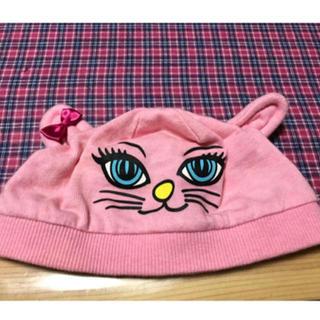 アースマジック(EARTHMAGIC)のアースマジック♡可愛い猫ちゃんの帽子♡ベビーフリーサイズ♡46〜48cm(帽子)