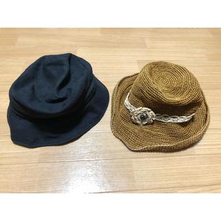 カシラ(CA4LA)の帽子 ハット 2点セット CA4LA zukin  バケットハット(ハット)