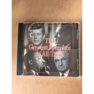 CD the greatest speech of all time(朗読)