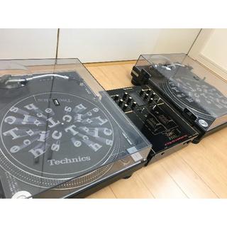 オーディオテクニカ(audio-technica)のテクニクスターンテーブルSL-1200MK3 DJフルセット【美品・送料込み】(ターンテーブル)