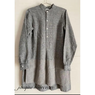 nest Robe - jacque marceau リネングランパシャツ