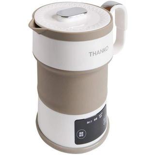 折りたたみ電気ケトル サンコー キッチン 生活家電 湯沸かし器 保温(電気ケトル)