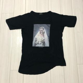 アンダーカバー(UNDERCOVER)の定価2.2万 アンダーカバー アシンメトリー Tシャツ(Tシャツ/カットソー(半袖/袖なし))